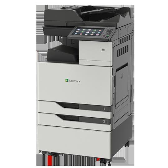 Kopimaskin Lexmark XC9235de A3 farge MFP med kabinett